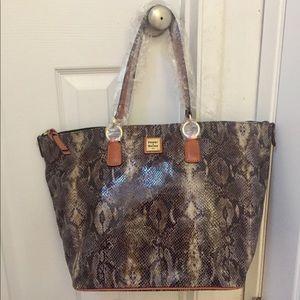 Dooney and Burke tote bag
